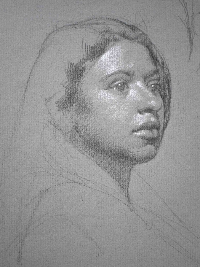 6.2 Portrait on Tinted Paper