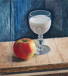 Still Life with Glass of Milk